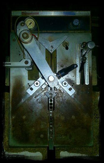 """...MachinE I...""|""...MaquinA I..."" Serie: ""...RutinA..."" Machine Warehouse Metal Aburrido Taller Eye4photography  Máquina ...RutinA... Almacen Bored Workshop"