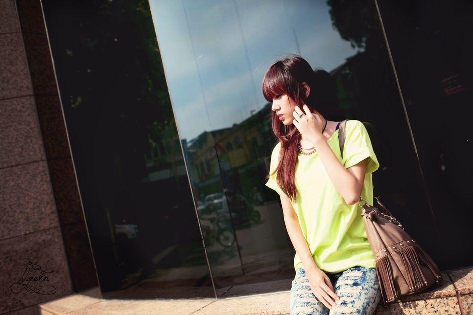 That's Me Model Selfportrait Hanoi