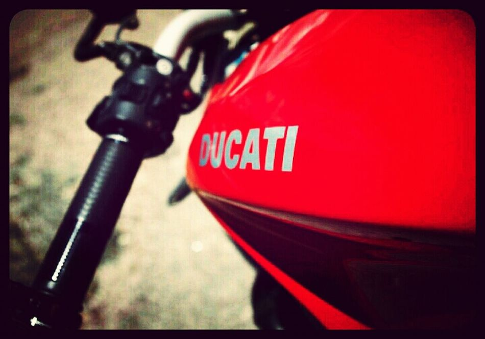 Ducati Motorcycle . Not mine. I have an SV1000s. Red Motorbike Automobile