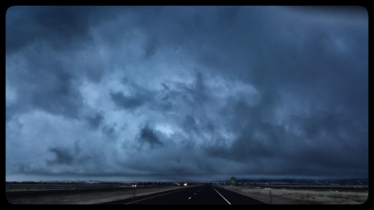The crazy storm Outdoors Cloud - Sky Sky No People Highways&Freeways Storm Cloud Day Weather Photography