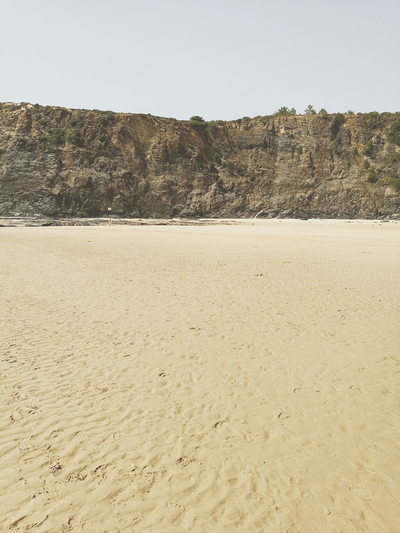 Sand Nature Beach No People Hill Sky Landscape Clear Sky Sand Dune Outdoors Tranquility Odeceixe Summer Scenics Beach Photography Algarve Alentejo Wall Rock Formation Falésia Beachphotography