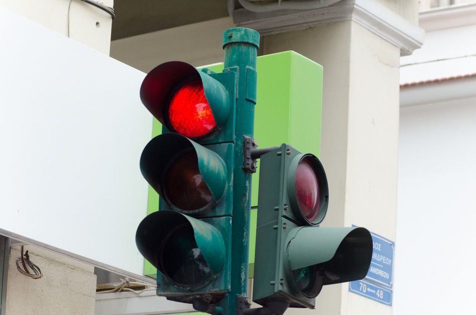 Traffic lights 1 City City Life Day Outdoors Red Stop Traffic Traffic Traffic Lamp Traffic Lights Traffic Semaphore