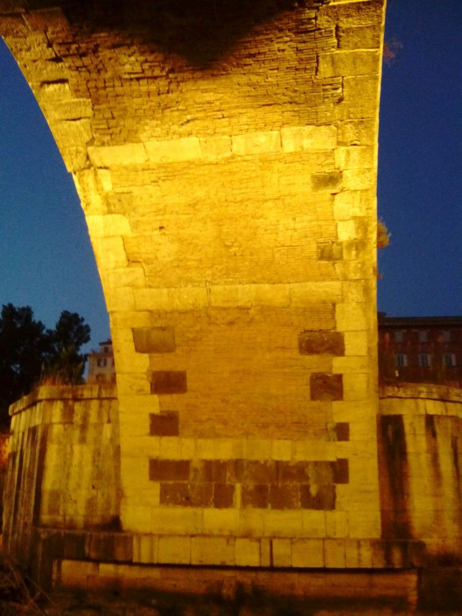 Built Structure Architecture No People Brick Wall Building Exterior Bridge Rome Roma Architecture Storical Place Bridge - Man Made Structure