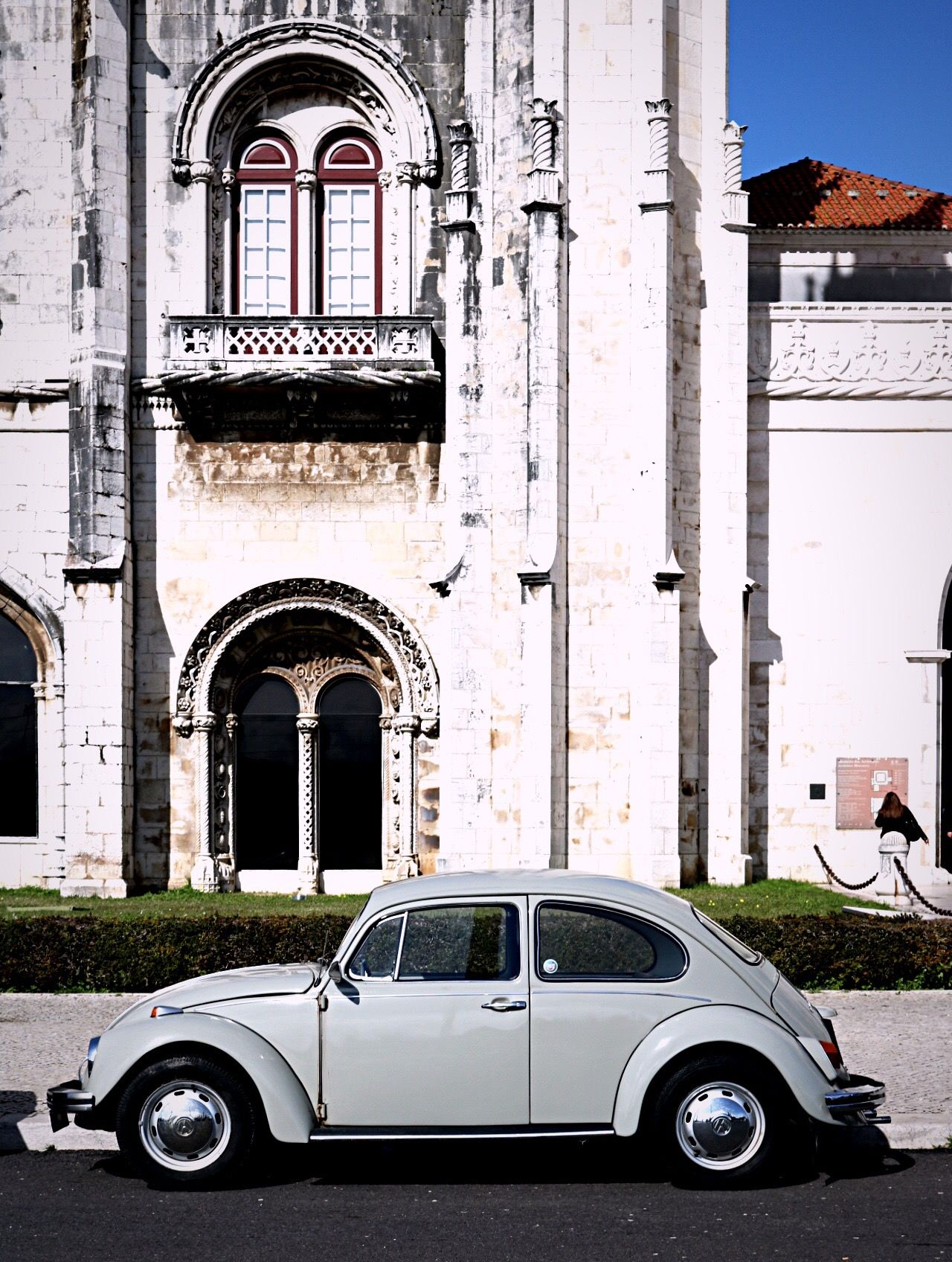 Arch Architecture Architecture Architecture_collection Beetle Built Structure Car Church Day EyeEm Best Shots History No People Outdoors Portugal Streetphotography Sunlight Taking Photos Vertical