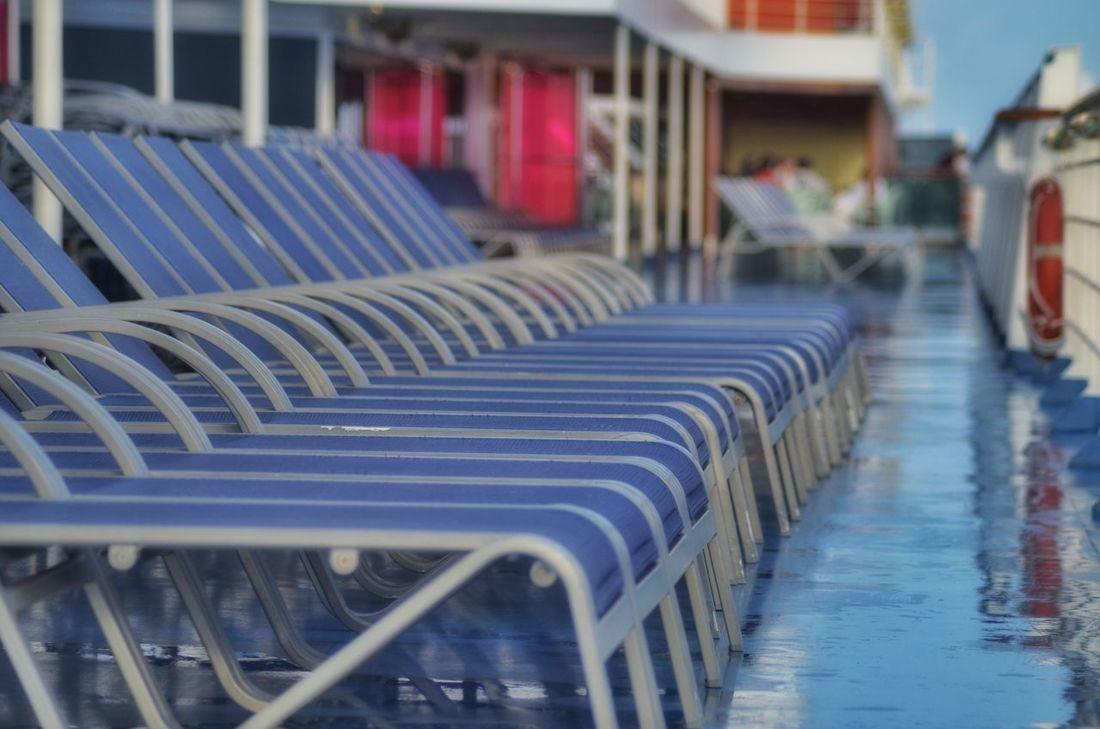 Enjoying Life Carnival_magic Cruising Timestandsstill Deckchair I Can't Think Of Another Tag