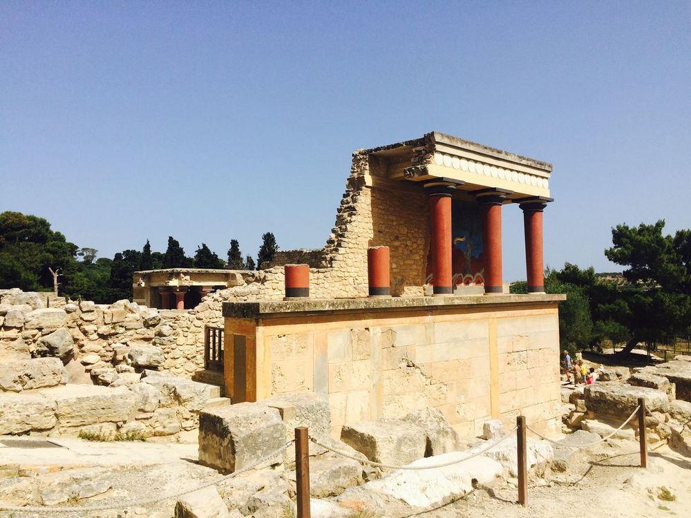 The Architect - 2015 EyeEm Awards Knossos Palace Crete Sun Beautiful