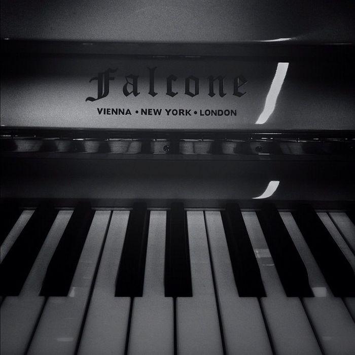 Falcone Piano Vienna NY London dark black white photo art artphoto creative instagood instamood iphonesea instadaily porusski порусски veryvery best beauty beautiful moment music