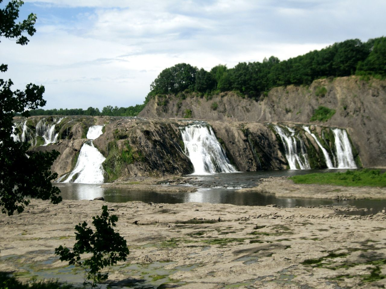 Cohoes Falls New York Waterfalls And Calming Views  Waterfall Waterscape Landscape Landscapes With WhiteWall Cohoes Cohoes Newyork Water Falls Serene Off The Beaten Path Nature Nature Photography Adventure Relaxing Things I Like The Great Outdoors - 2016 EyeEm Awards