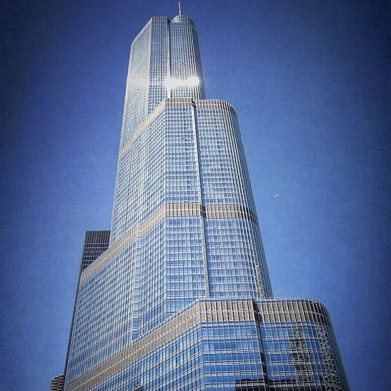 Trump Tower, Chicago Street City Chicago House USA Skyscraper Trump Honktravel