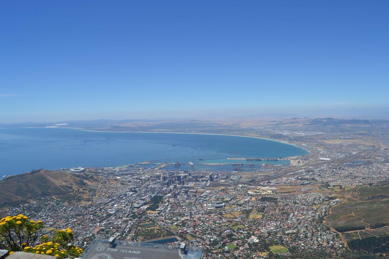 Tablemountain Summer Sunny Ocean Oceanside Capetown Southafrica