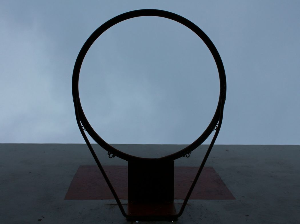 Single Object No People Day Outdoors Sky Speech Bubble Circle Bascetball Follow_me Life In Photo Beautiful Photography Photographer Follow Minimalism VSCO Cam VSCO Without Filters Like It Photo Photo Life Likes Minimal Playground Playing