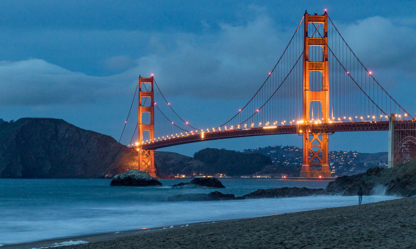Architecture Bridge - Man Made Structure Built Structure Golden Gate Bridge Outdoors San Francisco Sky Suspension Bridge Travel Travel Destinations Water