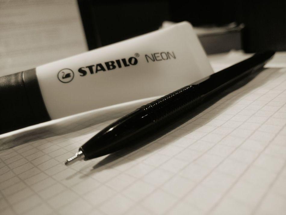 Black White Timetostudy Study Work Pen Write