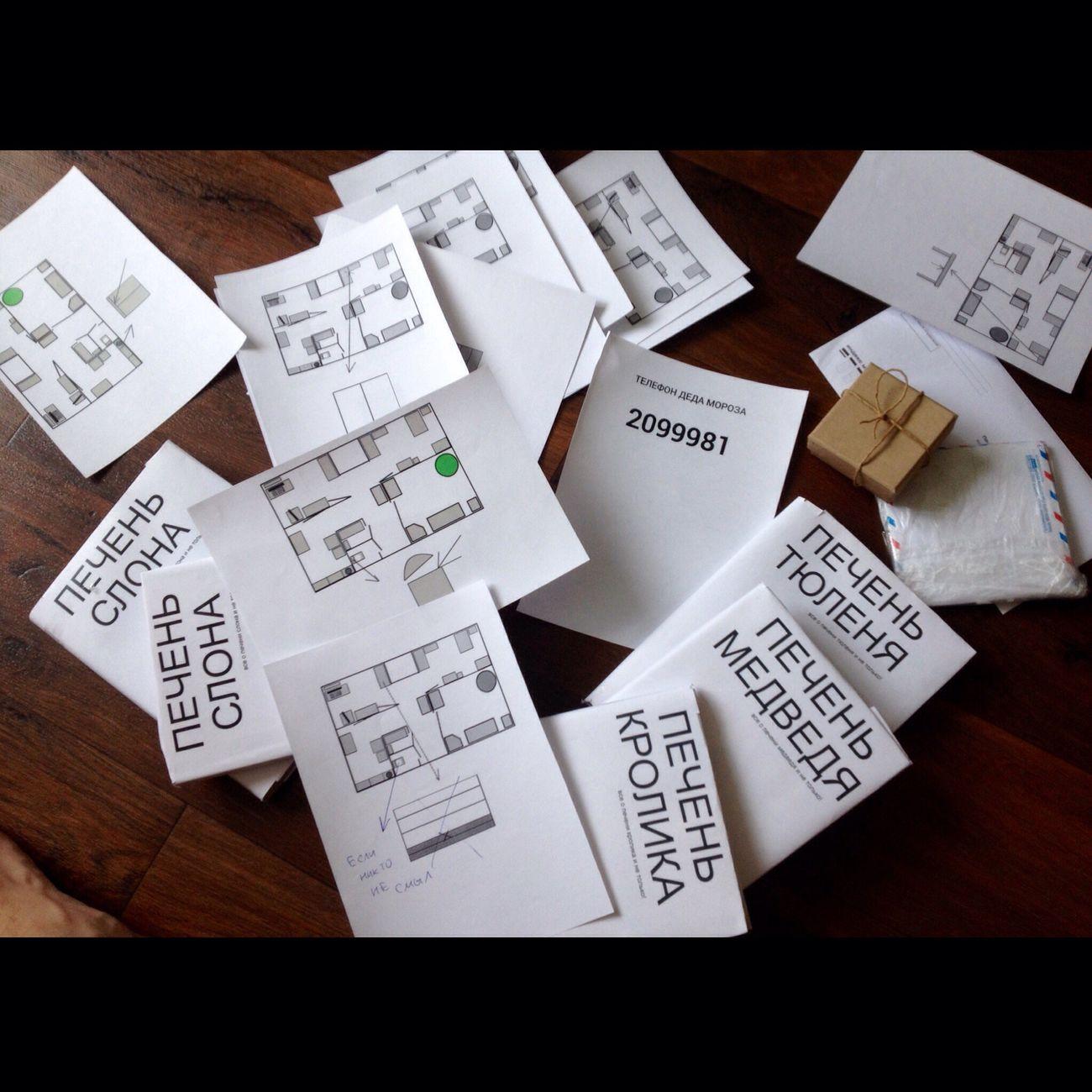 На новыйгод попросили придумать небольшой квест для детей) но, подумав, включил в квест всех взрослых, которые в эту Ночь были у нас вгостях 5 книг про печень, карты и телефон деда мороза(виртуальная #атс с автоответчиком и пользовательским меню) 😄 было весело! Они еще не знают, какие подарки их ждут!😂