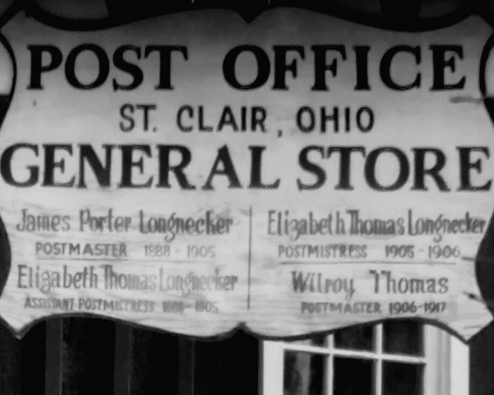 East Liverpool Ohio, USA St Clair Vintage Small Town USA History Through The Lens  Historical Building Historical Art Historical Architecture Historical Sign My Home Town Portrait Of America Americana 1888 Postmaster Postmistress