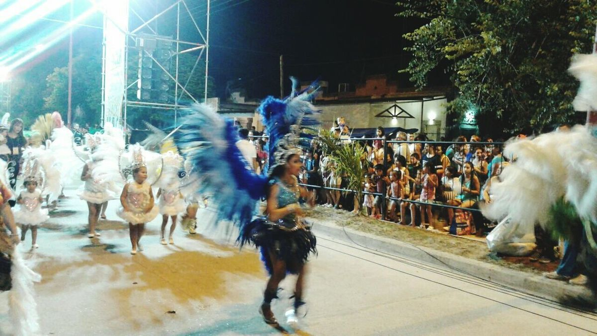Carnaval de Corrientes. Argentina 2017. Large Group Of People Real People Blurred Motion Men Celebration Traditional Festival Performing Arts Event Architecture Performance People Outdoors Only Men Mammal Adult Adults Only Day Reflection Women Adults Only City Carnaval De Corrientes. Argentina 2017. Arts Culture And Entertainment Alebovino At A Lecture Alejandro Maciel.