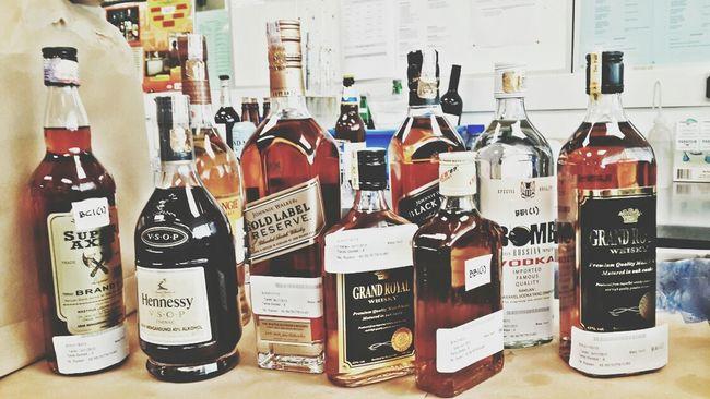 Alcohol Testmethod