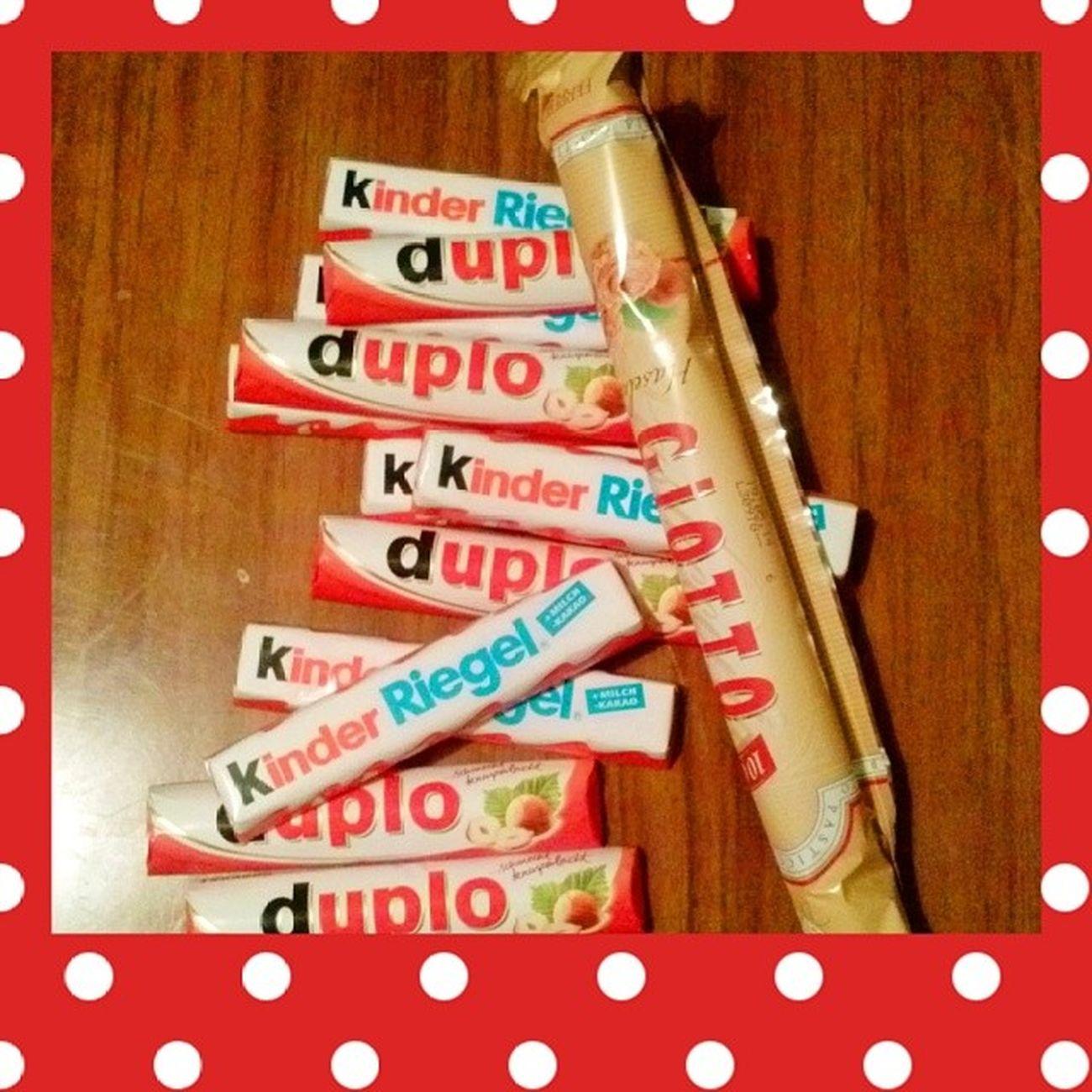 Мамочка, спасибо что подняла настроение! :)) сладостидлянастроения Kinderriegel Ferreroduplo