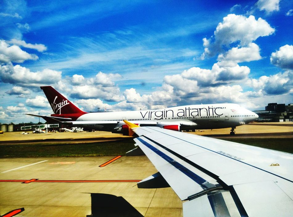 Boeing 747 taking off Planes Boeing 747 Virgin Atlantic TakeOff First Eyeem Photo