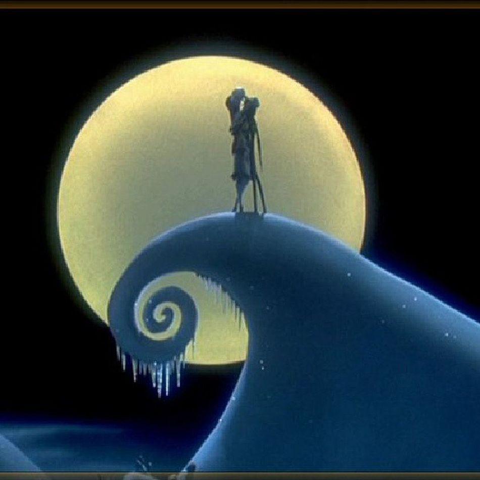 Watching TheNightmareBeforeChristmas Disney