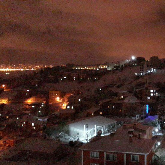 Bir kış gecesi First Eyeem Photo