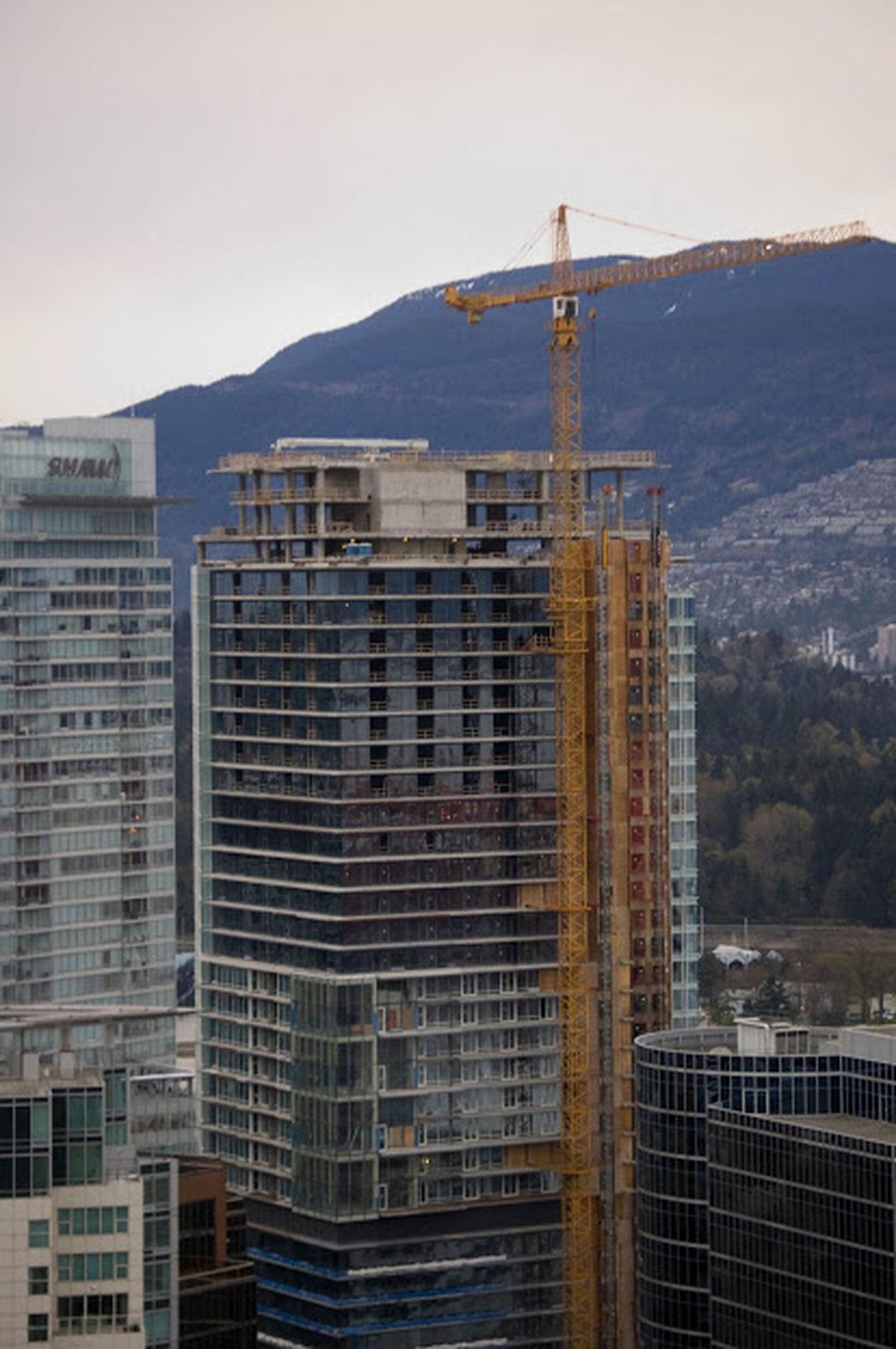 Arranhaceu Building Canada Civil Engineer Construção Skyscraper Vancouver Vancouver BC