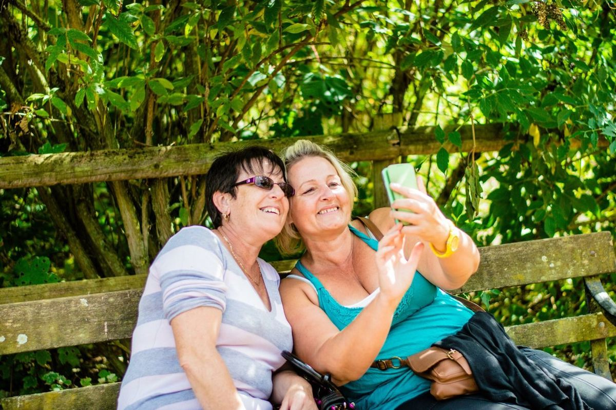 Selfie Popular RePicture Friendship Authentic Moments My Best Photo 2014 RePicture Giving Portrait Of A Friend The New Self-Portrait Everyday Joy We Are Family THESE Are My Friends