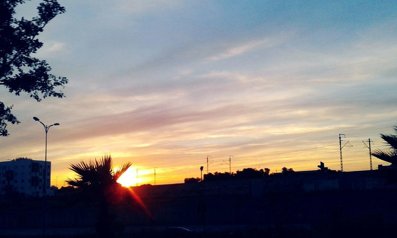 Beautiful Sunset Nature Photography Mohammedia Sky First Eyeem Photo