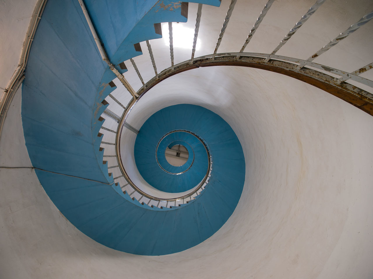 Architectural Feature Architecture Building Denmark Geometric Shape Lighthouse No People Spiral Spiral Staircase Staircase Steps And Staircases