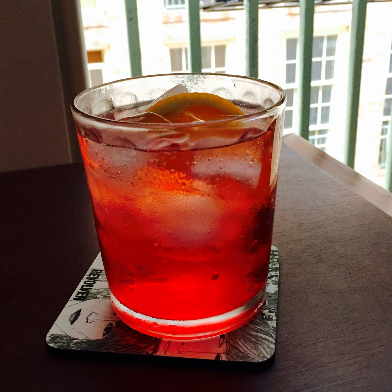 Summer evening summer negroni!