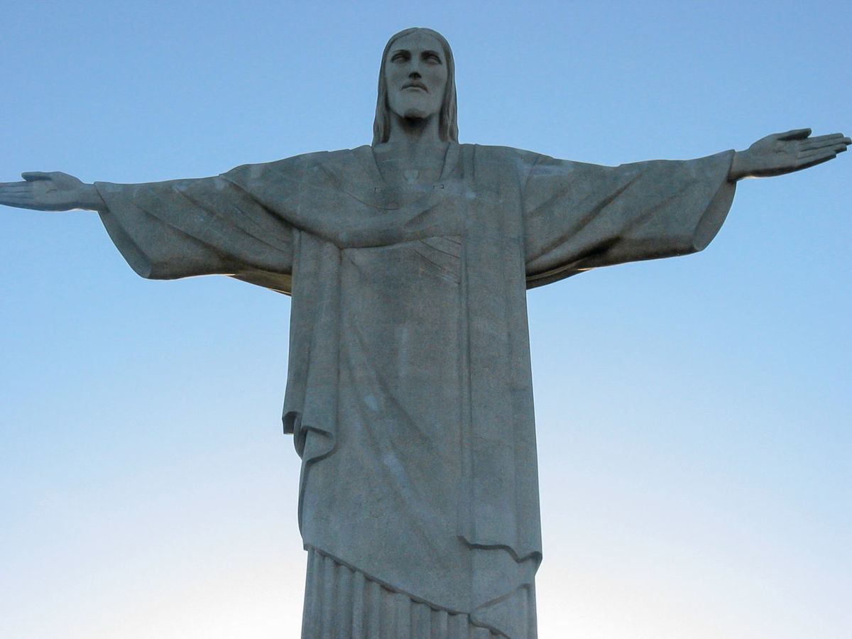Brasil Brazil Christ The Redeemer Christianity Corcovado Cristo Redentor Famous Famous Place Icon Jesus Landmark Monument Mountain Religion Rio Rio De Janeiro Sculpture Sky South America Statue Status Tourism Travel