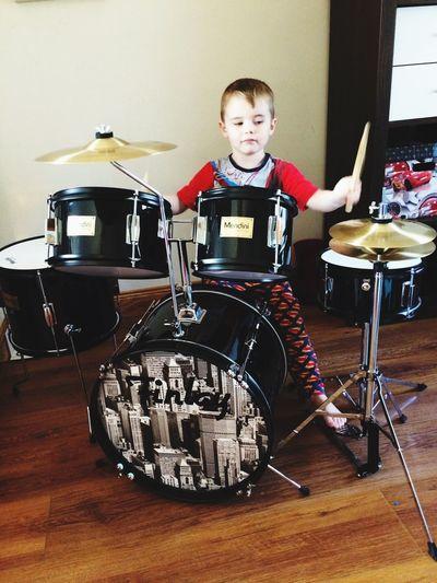 Christmas Drumkit Happy MyBoy