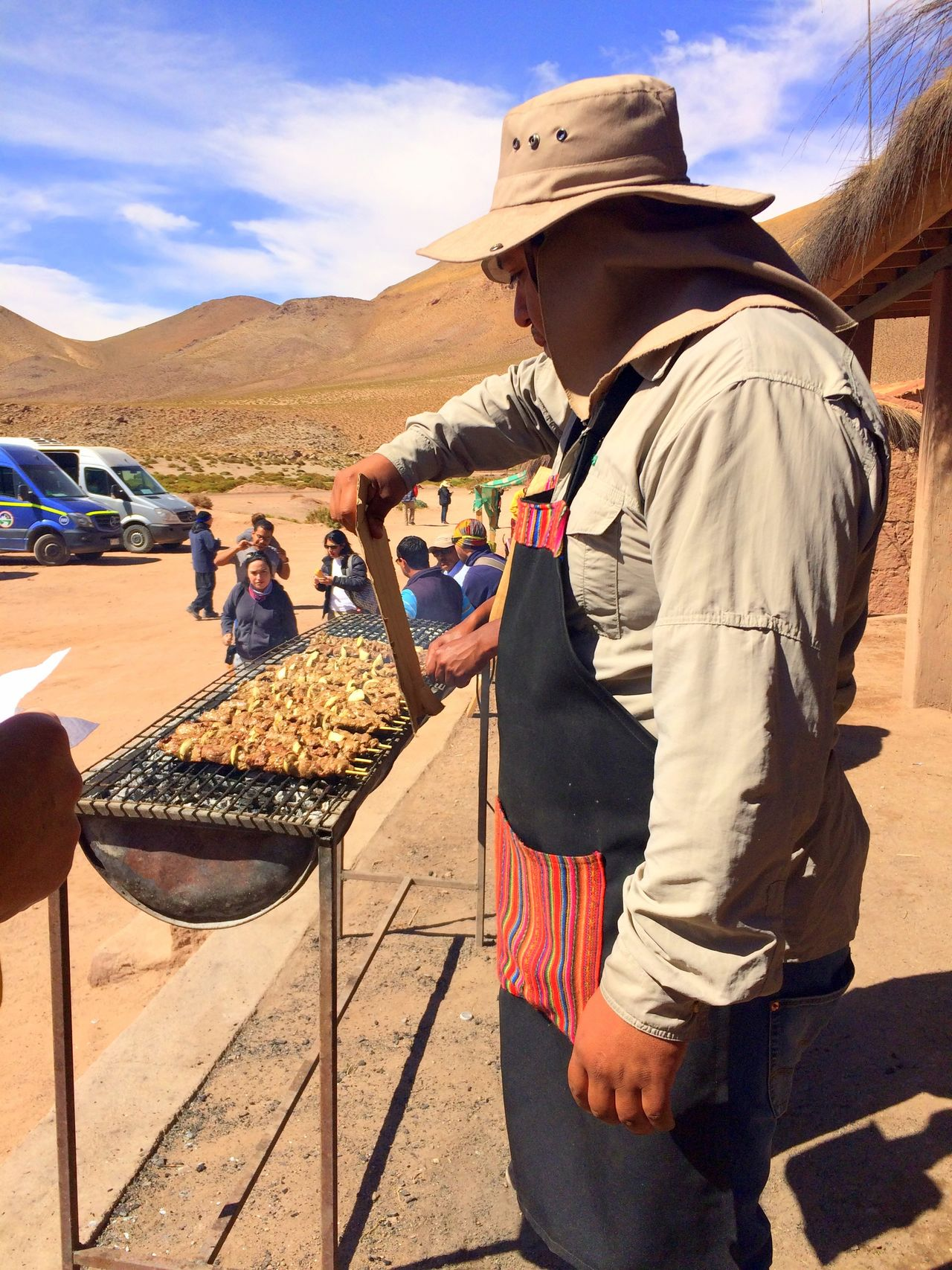 Atacama Desert Chile Day Machuca Barbecue Poblado Churrasco Asado