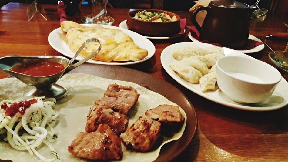 Shashlik Hachapuri Azerbaijan Cuisine