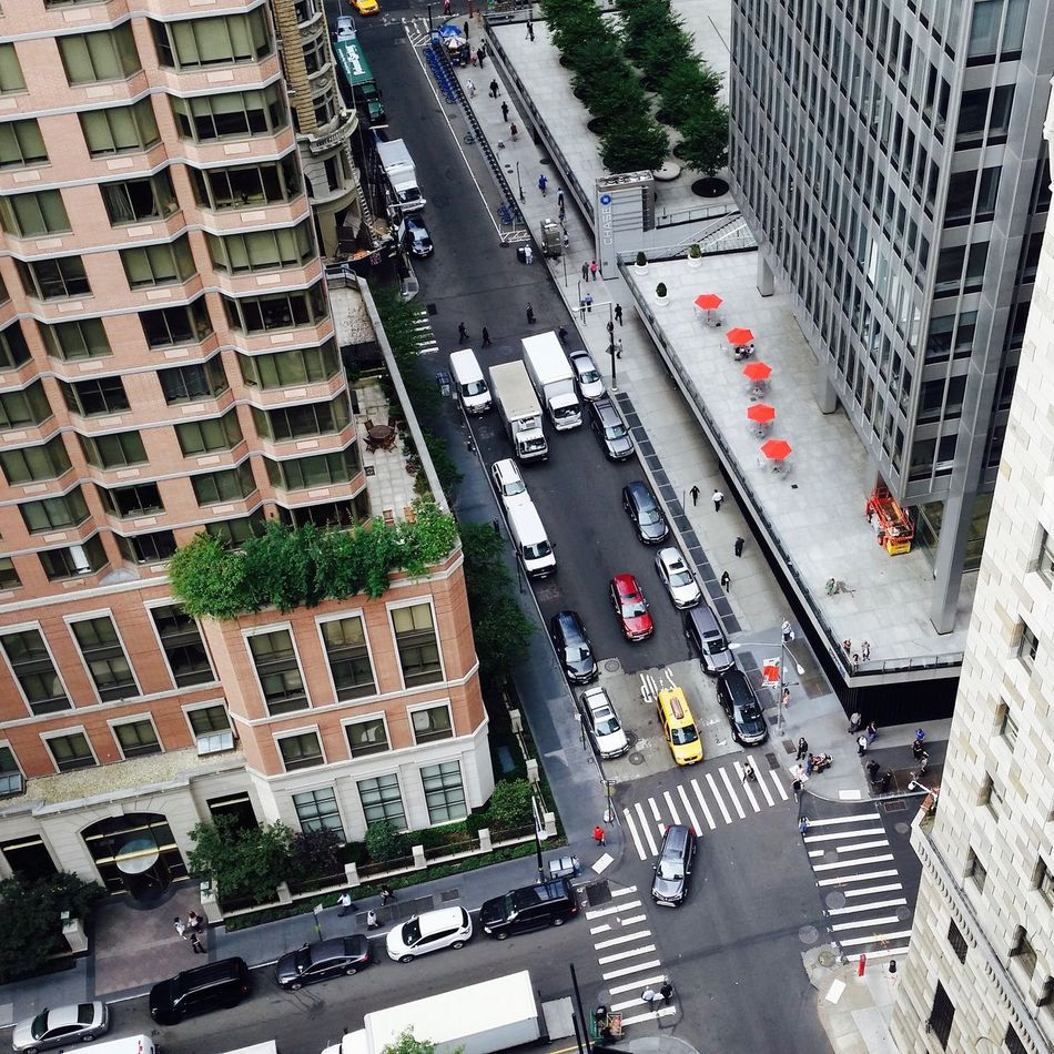 Dooooots First Eyeem Photo Ny New York City Mannhattan Building top Red