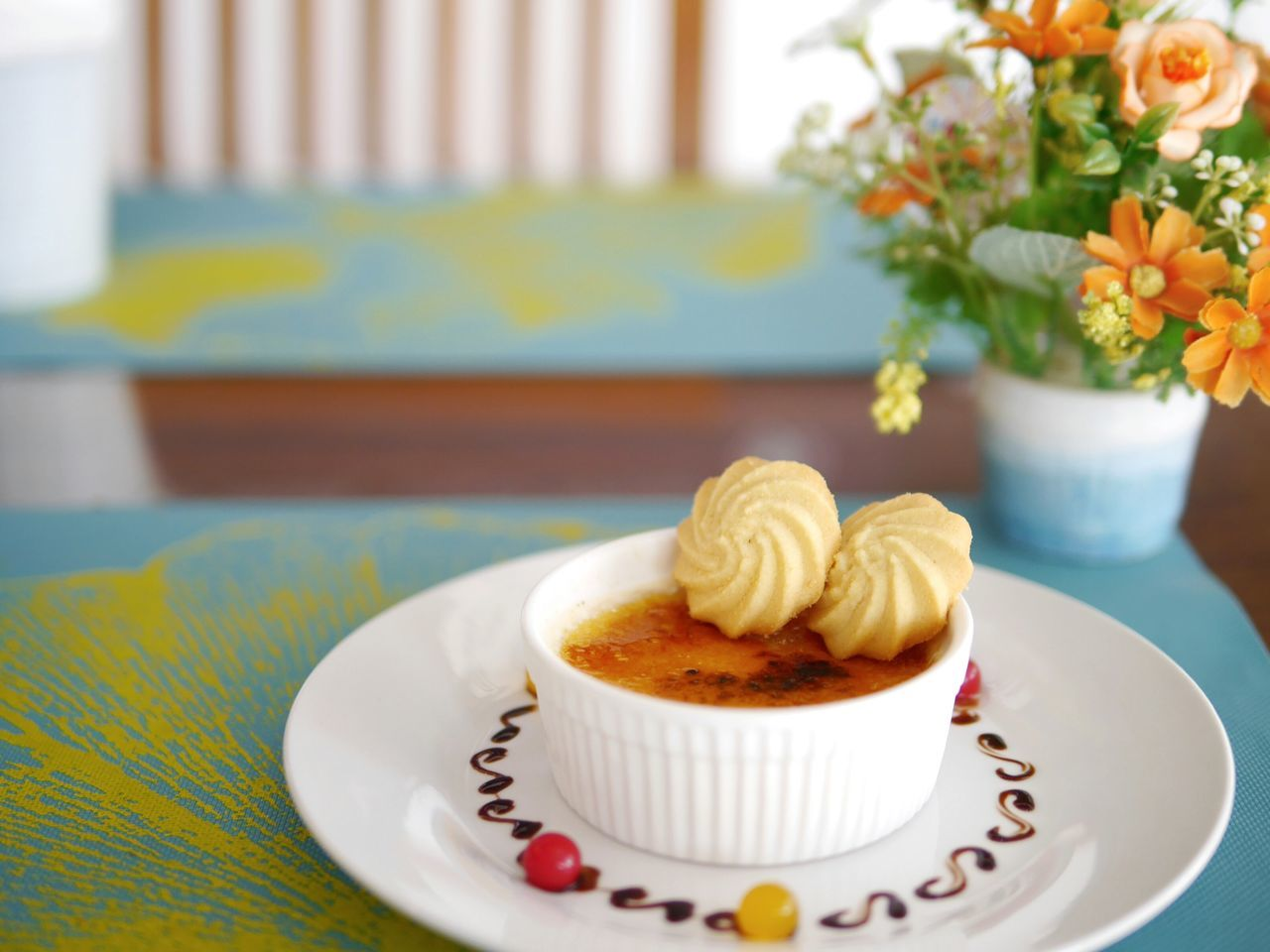 Plate Flower Dessert Sweet Food Celebration Indoors  Sweet Pie No People Close-up Day Social Issues Sweet Dessert Cake Cookie Dessert Time! Dessertoftheday Delicious