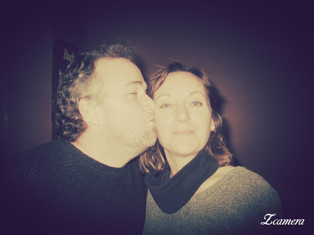 two people, togetherness, love, real people, leisure activity, bonding, young women, lifestyles, women, indoors, young adult, looking at camera, headshot, men, portrait, friendship, close-up, day, people