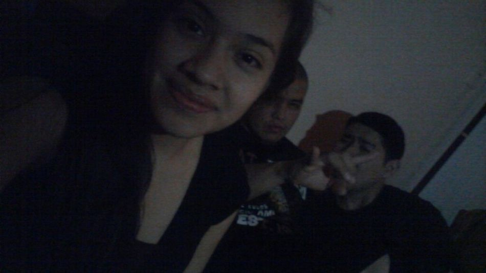 My Brothers , we were bored ! Lol