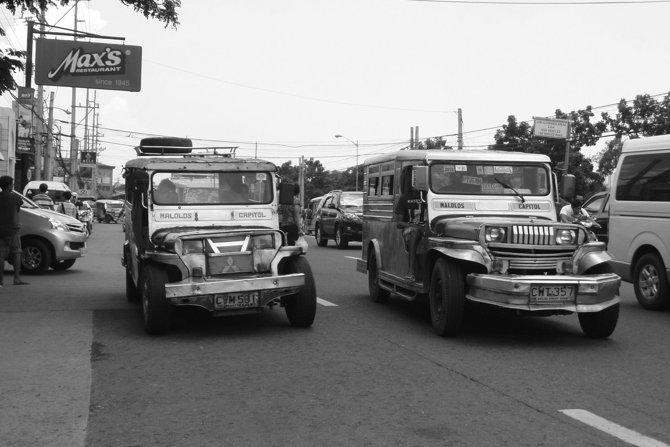 Karatig. Jeepney Minijeep Taking Photos Black And White Black&white EyeEm Eyeemphotography Eyeem Philippines Shades Of Grey