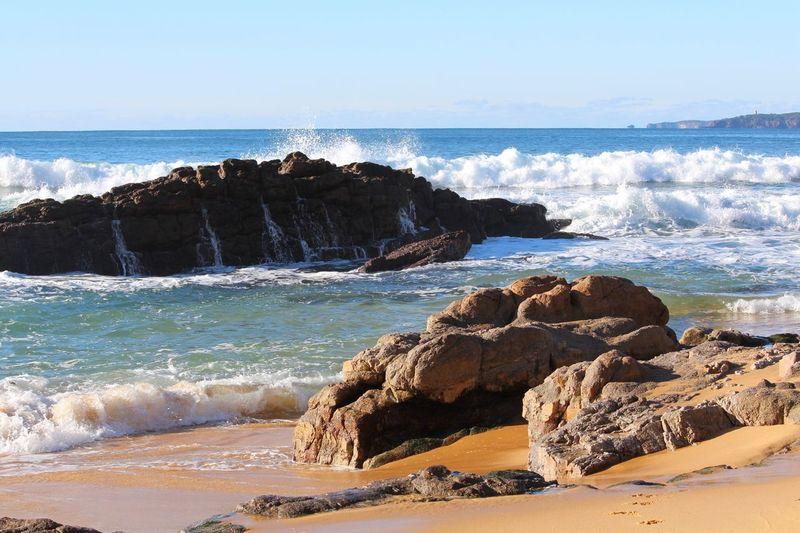 Eden Australia Morning Walk Beach Landscape_Collection Landscape Ocean Waves Waves Crashing OpenEdit