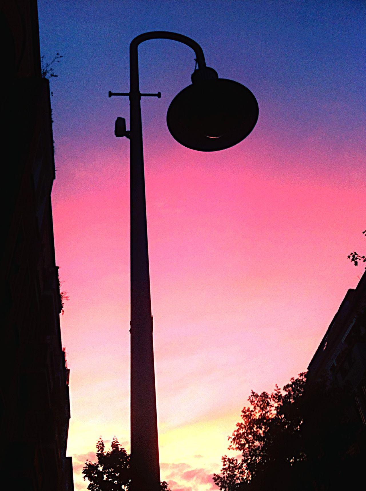 The Sky Over Berlin Blue Feelings My Fuckin Berlin Top Secret Mission Street Lamp Sunset