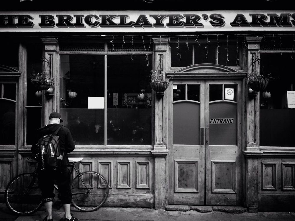 Belligerent Black And White Street Photography