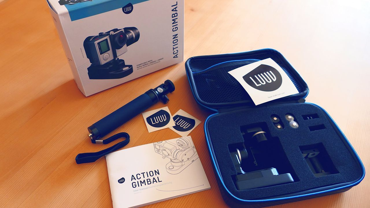 Check This Out Close Up Technology I am an early investor in a German Startup from Berlin called Luuv and my Action Gimbal just came today! It even comes with Stickers! The world's lightest Action Gimbal can be paired with SolidLuuv (which should arrive in Feburary) to form UltraLuuv Action I know it sounds incredibly sexy, however the 2 combined form the world's first 2X3 axis image stabilization! They're taking discounted pre-orders now at luuv-stabilizer.com Uniqueness Gimbal Lieblingsteil