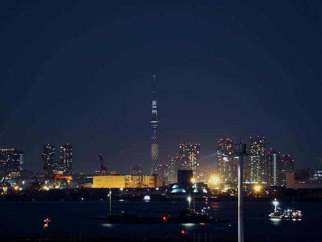 Night Illuminated Cityscape Lighting Nightscape Night View Nightphotography Tokyo Japan Tower Tokyoskytree Skytree