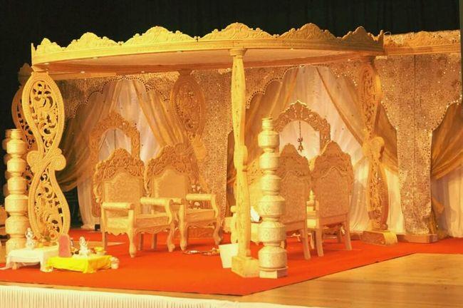 Indian Wedding Mandap HAPPIESTDAYOFMYLIFE Beatiful Day Indianphotography