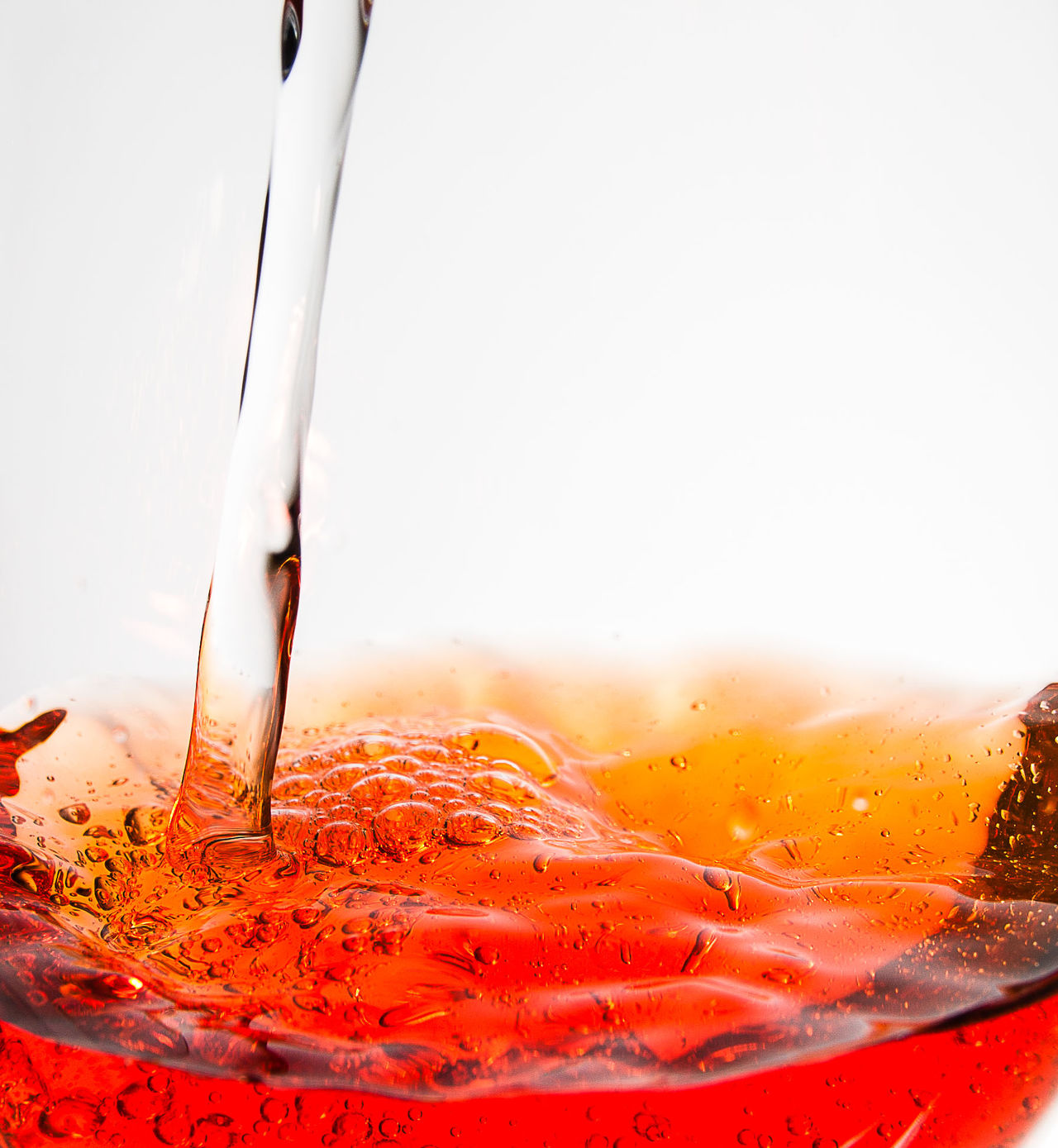 pouring liquid Abstract Backgrounds Close-up Drinking Drop Falling Flowing Food Fresh Liquid Mixing Motion No People Orange Pouring Red Splashing White