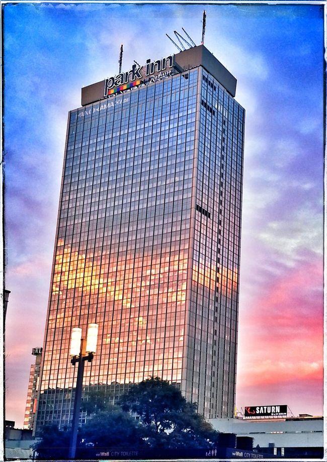 Alexanderplatz Sunset Berlin
