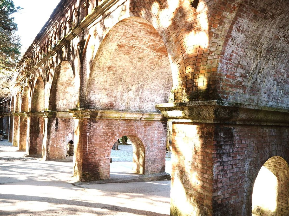 水路閣 Water Way Bridge Traveling Taking Photos Landscape Brick Wall Light And Shadow Historical Building