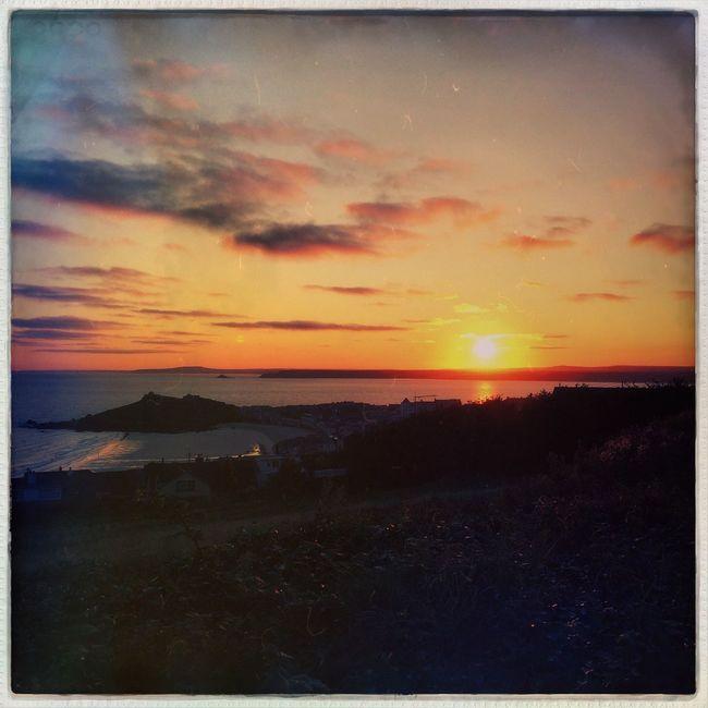 Sunrise EyeEm Best Shots - Sunsets + Sunrise Sunrise_Collection Sunrise_sunsets_aroundworld Cornwall Coast Hello World Taking Photos Hipstamatic