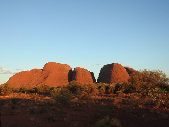 Australia Australian Landscape Kata Tjuta Northern Territory Outback Sunset